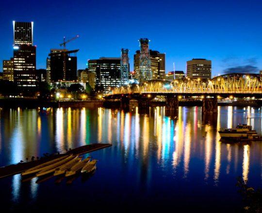 Weathering Spring - Portland Time-Lapse